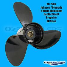 Aluminium JOHNSON/EVINRUDE PROPELLER PROP To Suit 40 48 50 60 75HP All sizes