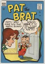 Pat The Brat 18 January 1957 VF