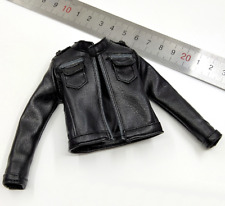 1/6 Scale Soldier Accessories Clothes Lara Croft 2.0 Leather Coat Jacket