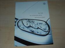 46731) VW Golf IV technische Daten & Ausstattung Prospekt 10/1998