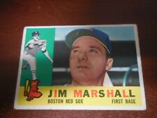 1960 Topps Baseball #267 Jim Marshall (Red Sox) NM  #AABB123
