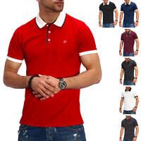 Jack & Jones Herren Poloshirt Polohemd Kurzarmshirt Shirt T-Shirt Basic Polo %