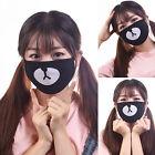Fashion Bear Unisex Cycling Anti-Dust Cotton Mouth Face Mask Respirator Black