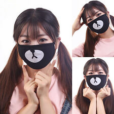 Bear Unisex Cycling Anti-Dust Cotton Mouth Face Mask Respirator Black