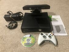 New listing Microsoft Xbox 360S 4Gb Console Model 1439 - Kinect, Controller, & Cables Bundle