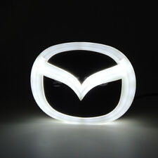4D LED Car Auto White Tail Logo Badge Emblem Light Fits Mazda2 Mazda3 Mazda8 CX7