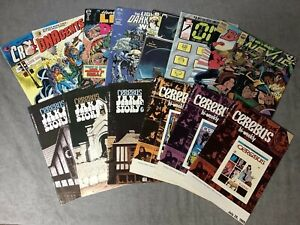 Vintage Comics - 14 ea - Eclipse, Epic, First and Cerebus - See Desc. for Titles