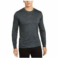 32 DEGREE COOL Men's Classic  Crew Neck Long Sleeve T-Shirt (Dark Green, S)