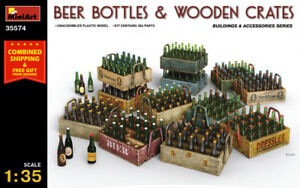 Miniart 35574 Beer Bottles and Wooden Crates 1/35 Scale Building and Accessories