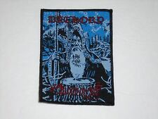 BATHORY BLOOD ON ICE BLACK METAL WOVEN PATCH