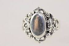 Poison Ring Steam Punk Solid Silver size N
