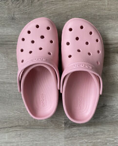 Crocs Women's Coast Clogs (204151-606) PINK   Size 8 NWT