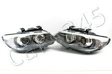 BMW 3 Series E92 E93 Facelift LED AFS Bi Xenon Headlights Front Lamps PAIR OEM