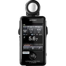 Sekonic Litemaster Pro L-478DR Photographic Light Meter (Black)