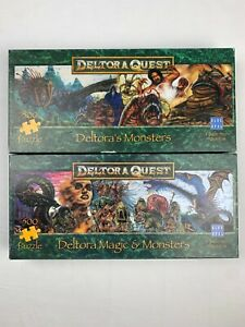 "Deltora Quest Puzzle x2 ""Deltora's Monsters"" ""Deltora's Magic and Monsters"""