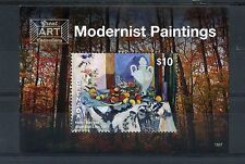 Grenada 2015 MNH Modernist Paintings 1v S/S Art Henri Matisse Blue Still Life