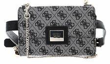 GUESS Candace Convertible Crossbody Belt Bag Gürteltasche Tasche Black Schwarz
