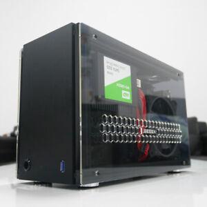 Geeek A4 Flex Mini Transparent Acrylic ITX A50S Computer Case