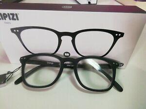IZIPIZI (SEE CONCEPT) READING  +1, 0 occhiali da lettura # E BLACK
