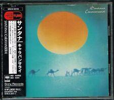 """Santana """"Caravanserai"""" Japan CD w/OBI SRCS-6318"""