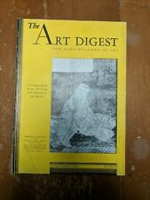 The Art Digest The Need Magazine Of Art 1st September 1936