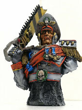 """WARHAMMER  40K FORGE WORLD OOP BUST """"COMMISSAR""""  PRO PAINTED LIMITED EDITION"""