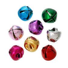 Lot 10 Pieces Cloche 8mm x 8mm grelots Metal Mixte, Clochette, Jingle Bell