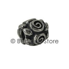 NEW Pandora 'Rose Leaf / Petal' Charm Bead Silver ALE Genuine Authentic 790136