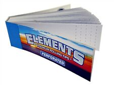 10x Elements Perforated Tips ( 50 Tips Per Pack ) Premium Rolling Filter Tip