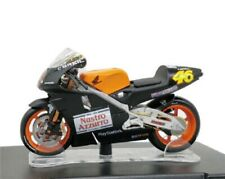 Leo 1:18 MotoGP ROSSI #46 Honda NSR 500 test Valencia 2000 Bike Model NEW IN BOX