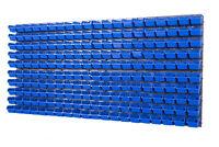 200 Boxen SET Lagersichtboxenwand Stapelboxen mit Montagewand Werkzeugwand