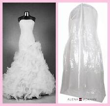 Monster Huge Extra Large Crystal Clear Vinyl Wedding Gown Bag Dress Garment Bag
