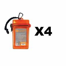 Ultimate Survival Technologies Watertight Container 2.0 Orange Case (4-Pack)