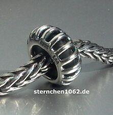 Trollbeads * Sonnenstrahl - Spacer / Silber Stopper *