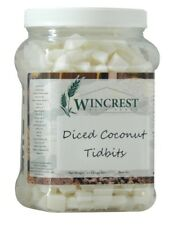 Diced Coconut Tidbits - 2.5 Lb Tub - Free Expedited Shipping