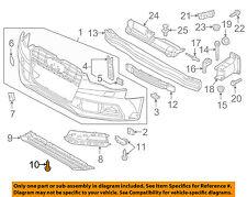 AUDI OEM 08-17 A5 Quattro Interior-Rear-Package Tray Screw N91132901
