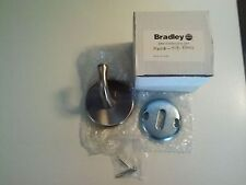 New Bradley Corp Robe Hook 9119-81 Satin Chrome Plated Brass 9119-810000