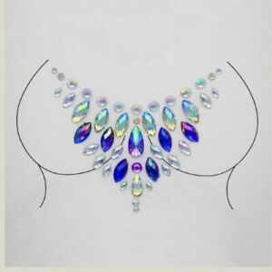 Jeweled Temporary Breast Sticker for Women