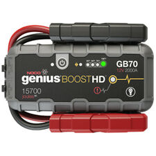 NOCO GB70 GENIUS BOOST 12v Jump Starter Lithium-ion 2000AMP