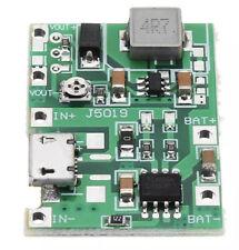 2 x USB Lithium 3.7V Battery Charging Module 4.2V Boost Step Up 5V 9V 12V 24V UK