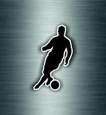 Autocollant sticker voiture chambre enfant decoration foot joueur footballeur