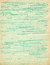 André BRETON Manuscrit autographe signé sur le Surréalisme. DALI PICASSO RIMBAUD