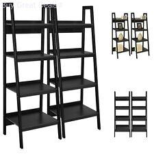 Bookcase Metal Altra Furniture Frame Bundle Ladder Black Set 2 New 4 Shelves