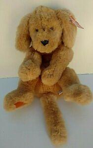 """Vintage w/tag GUND Stuffed Animal MUTTSY Dog Golden Floppy #1362 18"""" (Med size)"""