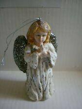Antique Vtg Gloria Angel Christmas Tree Topper Composition Paper Mache?