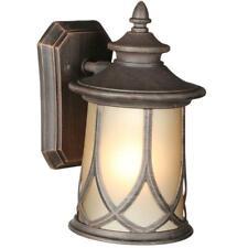 New listing Progress Lighting Resort 1-Light Aged Copper 10.9 in. Outdoor Wall Lantern Sconc