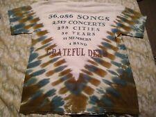 Grateful Dead Vintage Short Sleeve T-Shirt 1996 G.D.M. Inc. Tie-Dyed