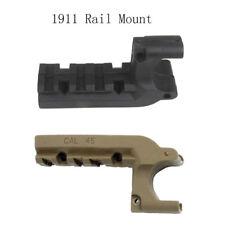 Hunting Flashlight/Laser Adapter 20mm Rail Mount For Clot 1911 M1911 45 Pistol