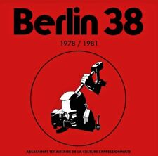 "BERLIN 38 ""1978 / 1981"" Fr Cold / Post-Punk / Minimal Synth lp, only 300 copies"