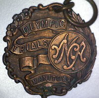 Vintage YMCA Olympic Trials (Manitoba) - 5 mile run - 3rd Place Medallion